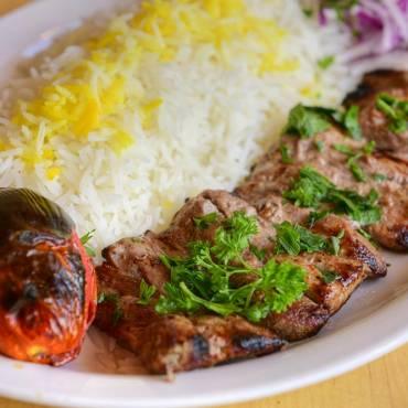 Barg (Veal Tenderloin) Kabab