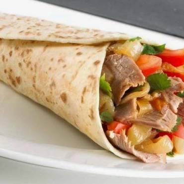 Beef Kabab Saj Wrap