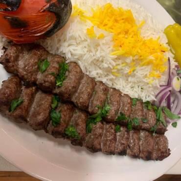 Beef Kabab (Kobedeh)